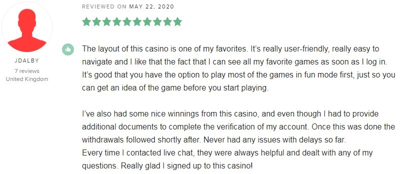 Genesis Casino Player Review 4