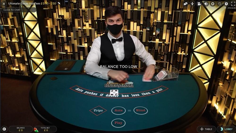 GentingBet Casino Live Poker