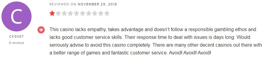 GentingBet Casino Player Review 2