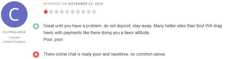 GentingBet Casino Player Review 3