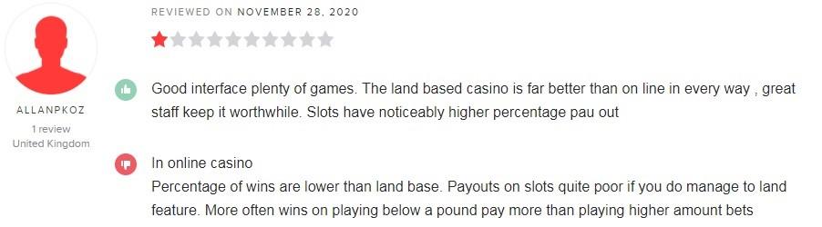 GentingBet Casino Player Review