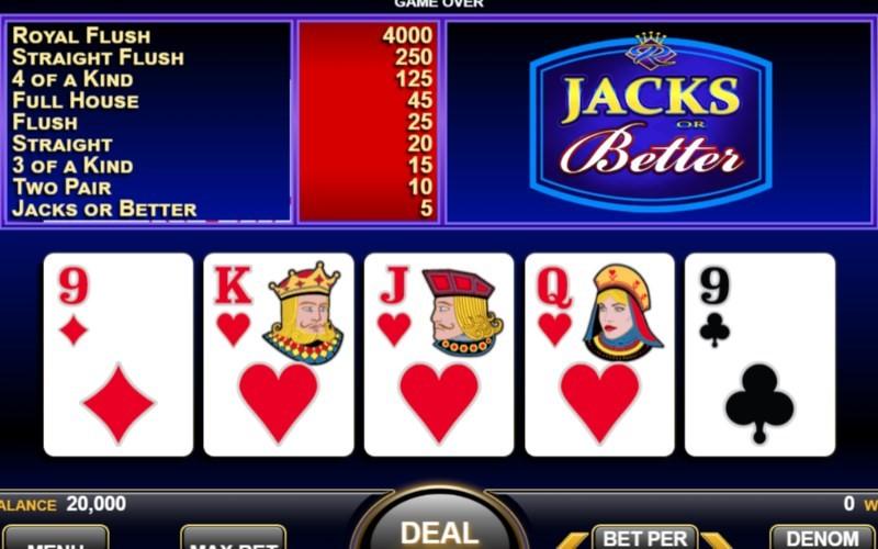 King Casino Automated Poker