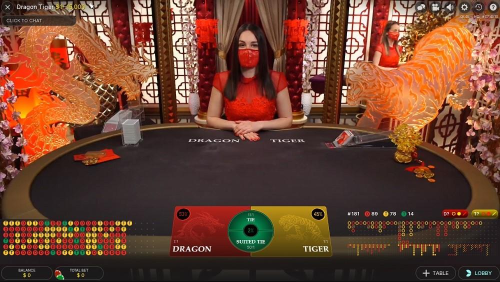King Casino Live Baccarat