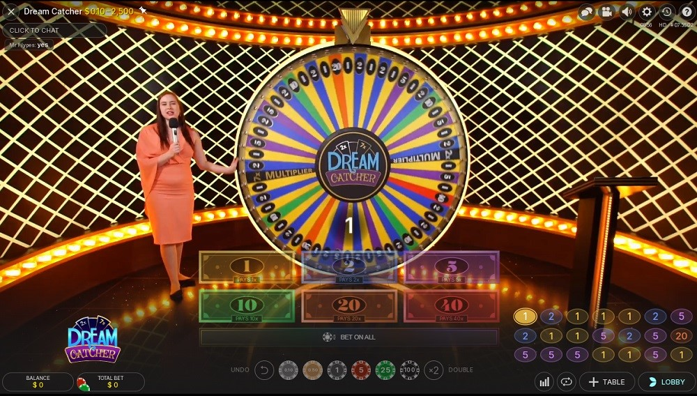 King Casino Live Game Show