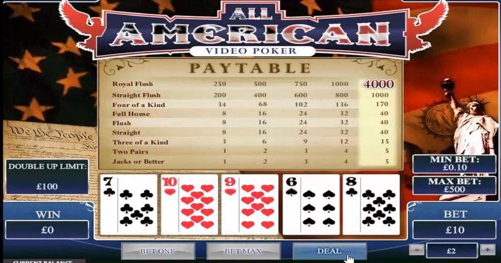 Ladbrokes Casino Automated Poker