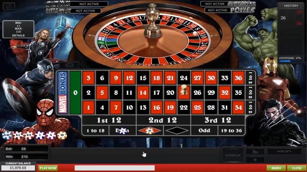 Ladbrokes Casino Automated Roulette