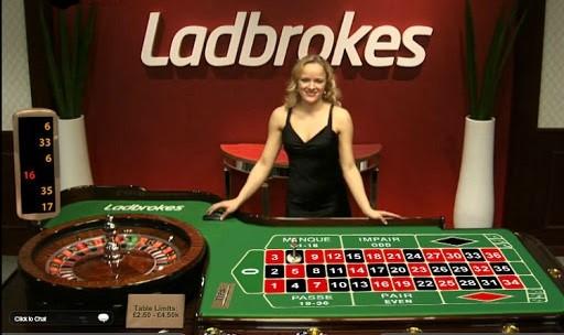Ladbrokes Casino Live Roulette