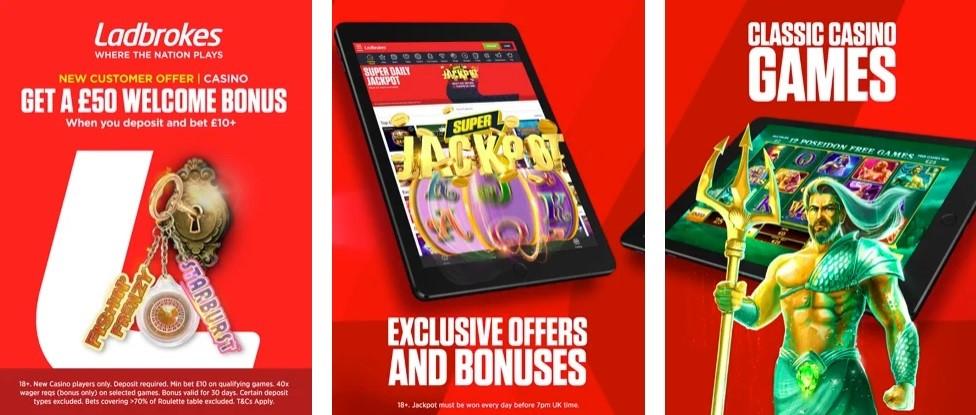 Ladbrokes Casino Mobile App
