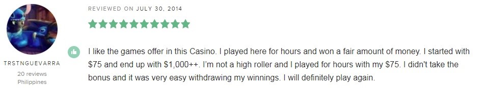 Ladbrokes Casino Player Review 4