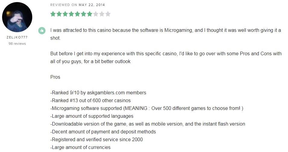 Ladbrokes Casino Player Review 5