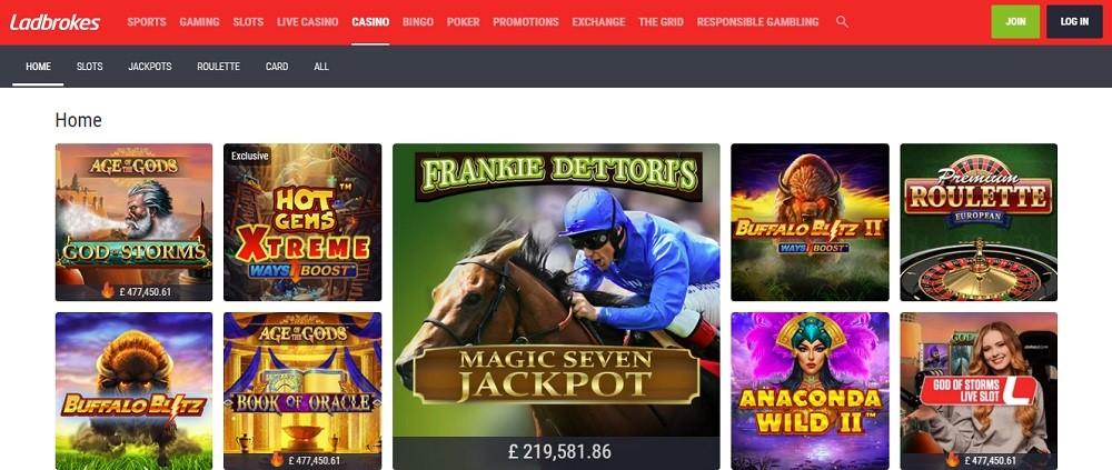 Ladbrokes Casino Live Casino Games