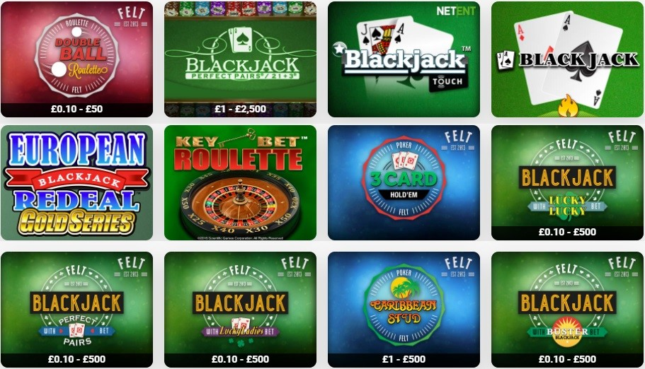 LeoVegas Casino Automated Casino Table Games