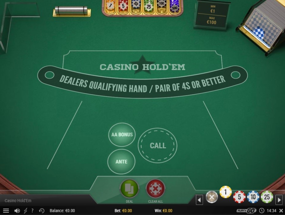 LeoVegas Casino Automated Poker