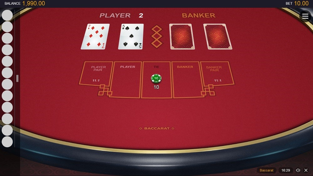 N1 Casino Automated Baccarat