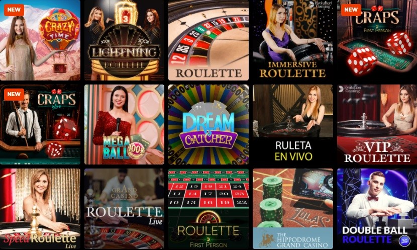 N1 Casino Live Casino Games