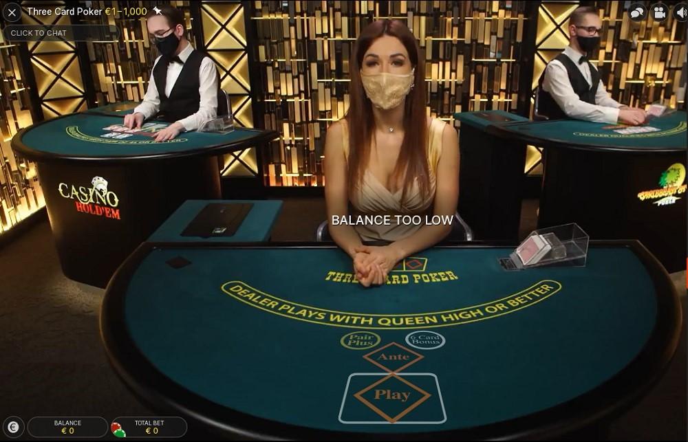 N1 Casino Live Poker