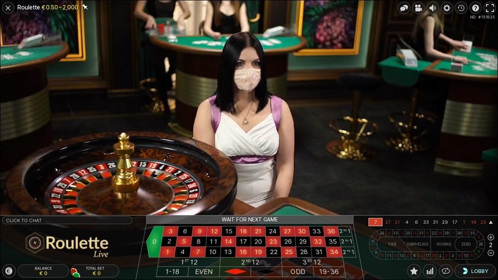 N1 Casino Live Roulette