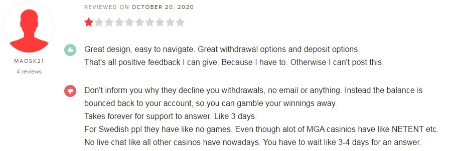 N1 Casino Player Review