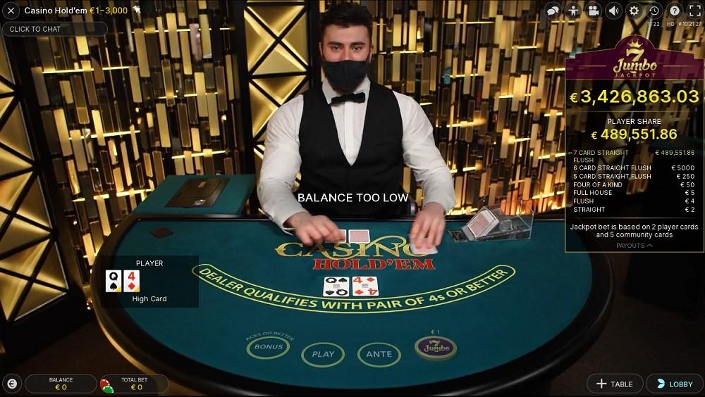 Netbet Casino Live Poker