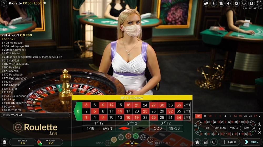 Netbet Casino Live Roulette