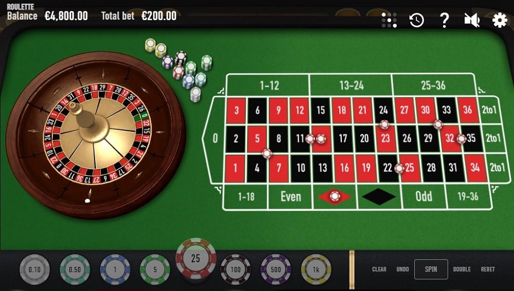 Ninja Casino Automated Roulette