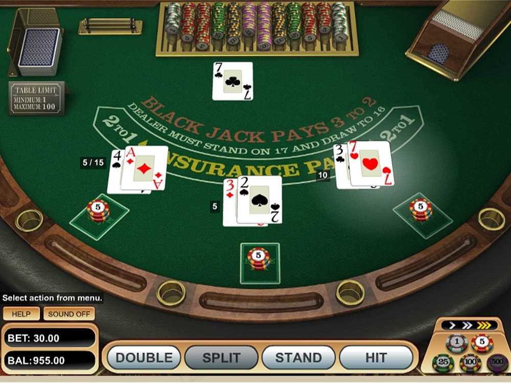 Pink Casino Automated Blackjack