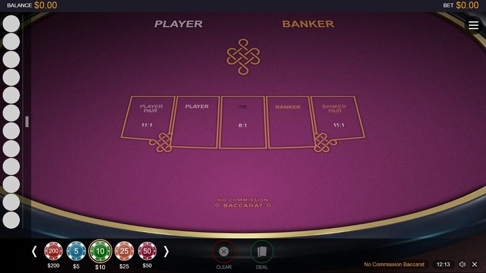 Quatro Casino Automated Baccarat