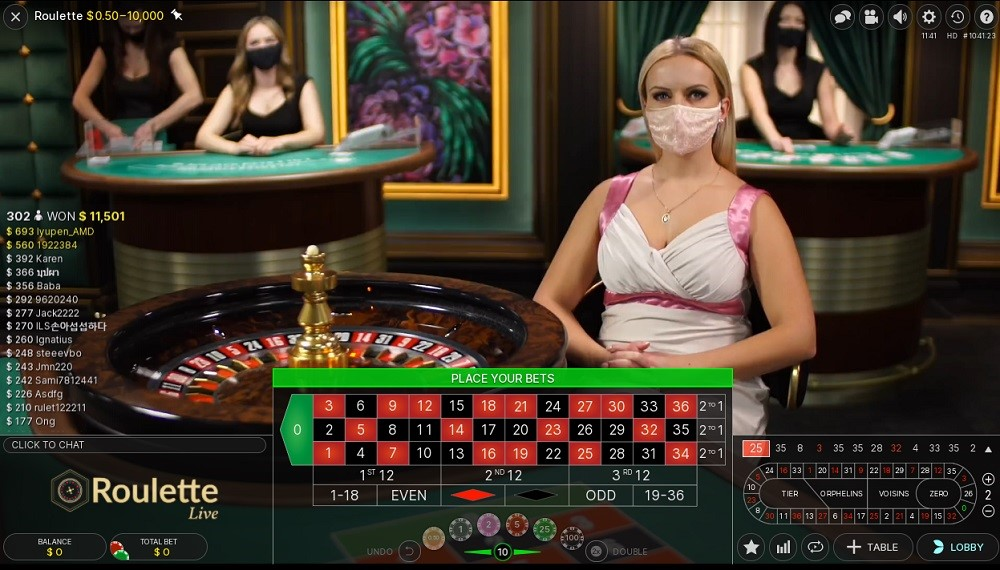 Quatro Casino Live Roulette
