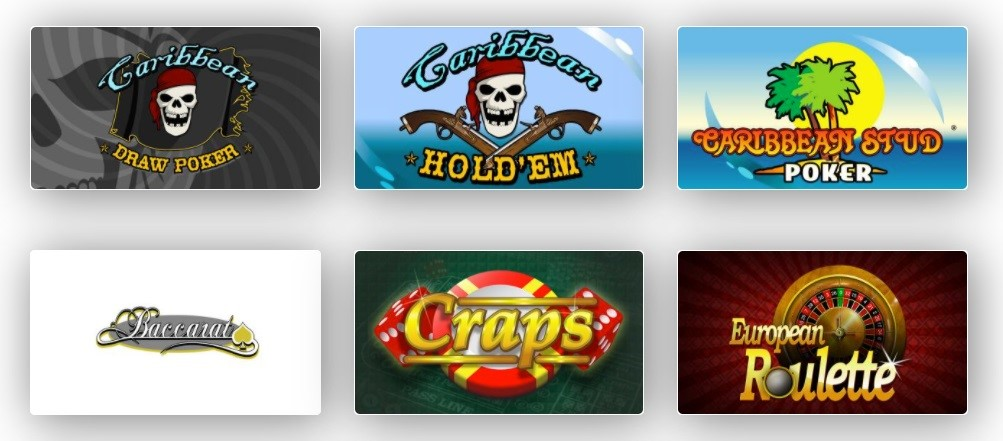 Red Dog Casino Automated Casino Table Games