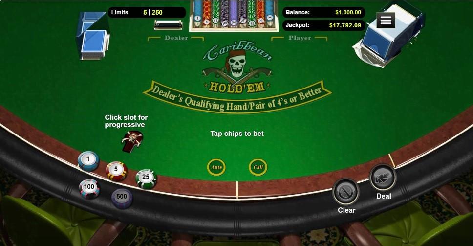 Red Dog Casino Automated Poker
