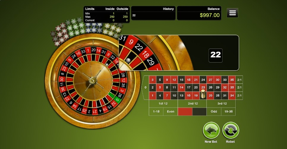 Red Dog Casino Automated Roulette