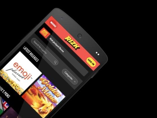 Rizk Casino Mobile App