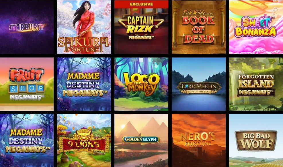 Rizk Casino Slots