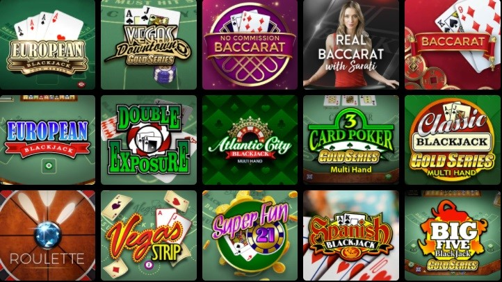 Royal Vegas Casino Automated Casino Table Games