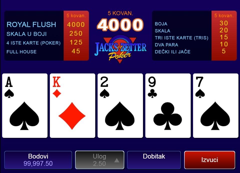 Royal Vegas Casino Automated Poker
