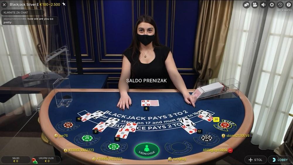 Royal Vegas Casino Live Blackjack