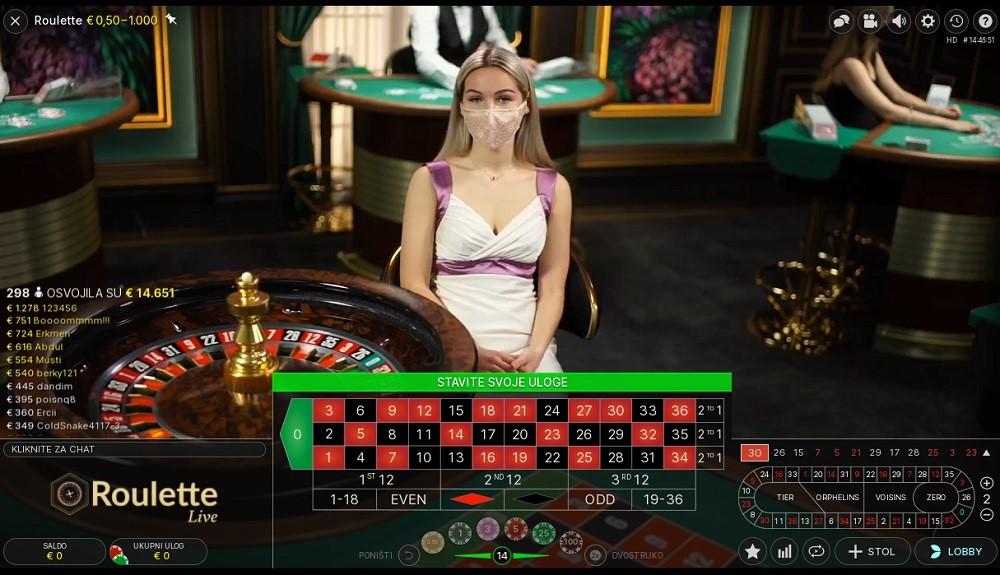 Royal Vegas Casino Live Roulette