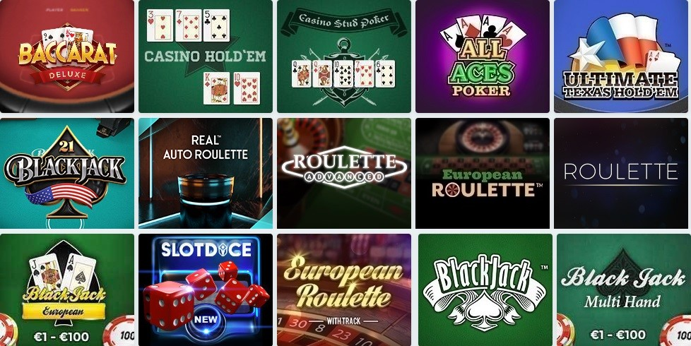 Speedy Casino Automated Casino Table Games