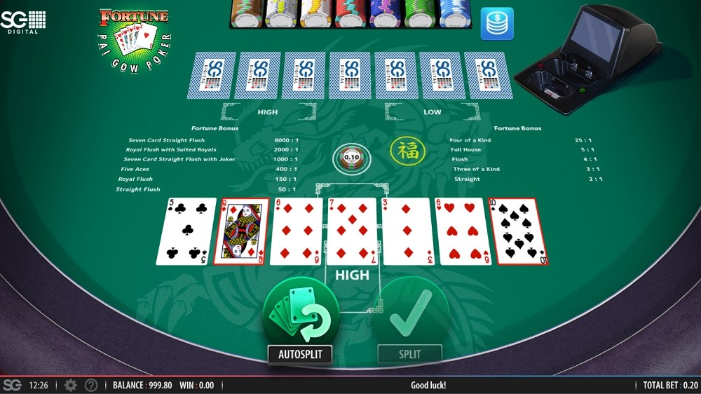 Speedy Casino Automated Poker