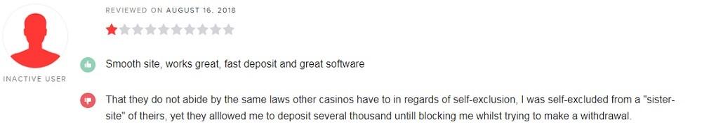 Speedy Casino Player Review 2