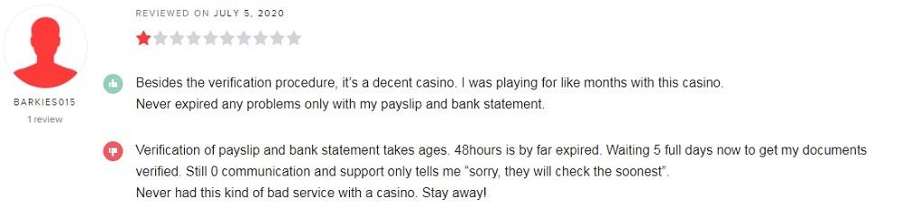 Speedy Casino Player Review