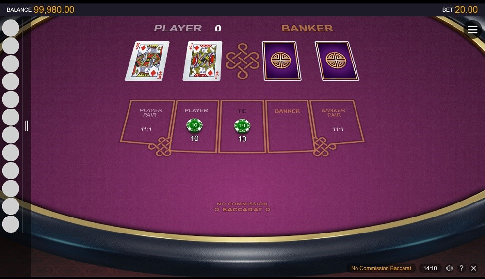 Spin Palace Casino Automated Baccarat