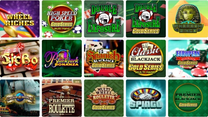 Spin Palace Casino Automated Casino Table Games
