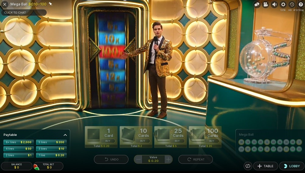 Spin Palace Casino Live Game Show