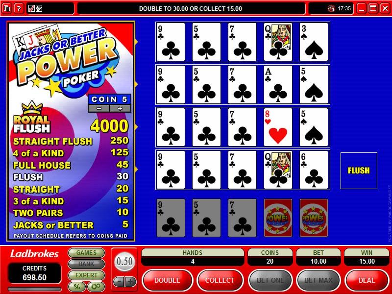 Twin Casino Automated Poker