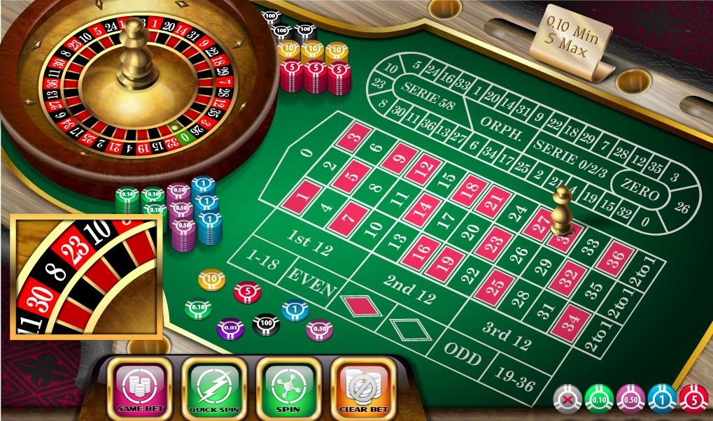 Twin Casino Automated Roulette