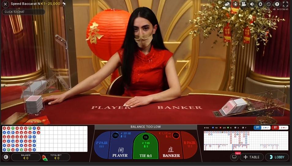 Twin Casino Live Baccarat
