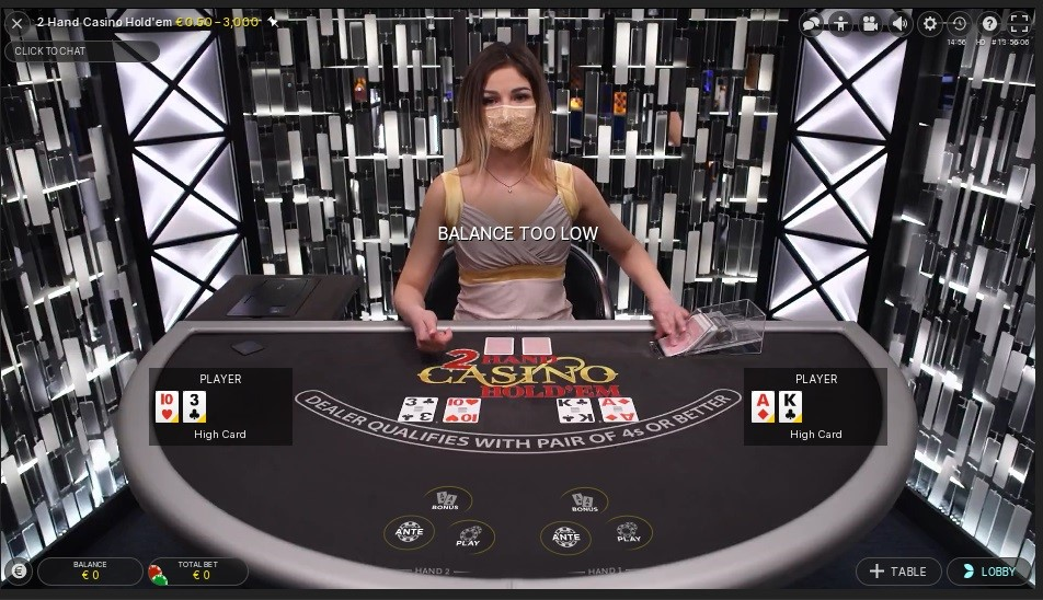 Twin Casino Live Poker