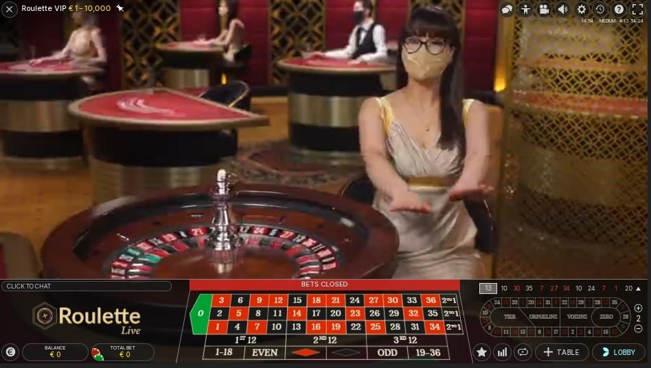 Twin Casino Live Roulette