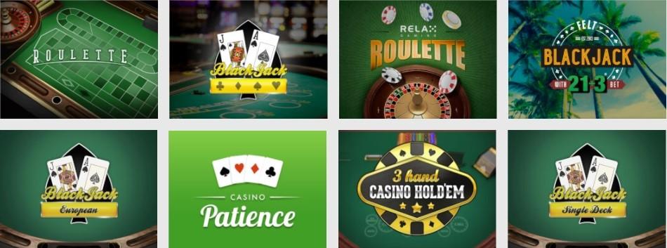 Unibet Casino Automated Casino Table Games